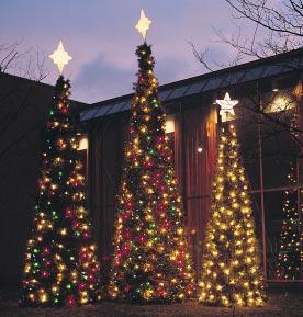 Garland Tree with Lights