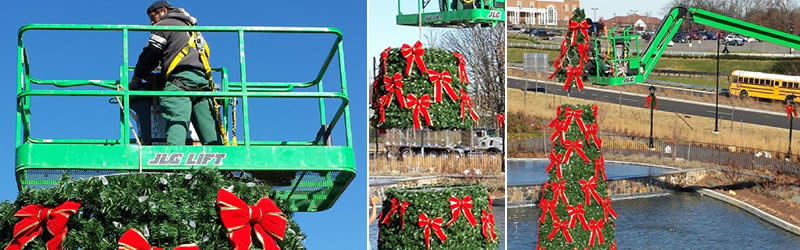 click on the slide - Municipal Christmas Decorations