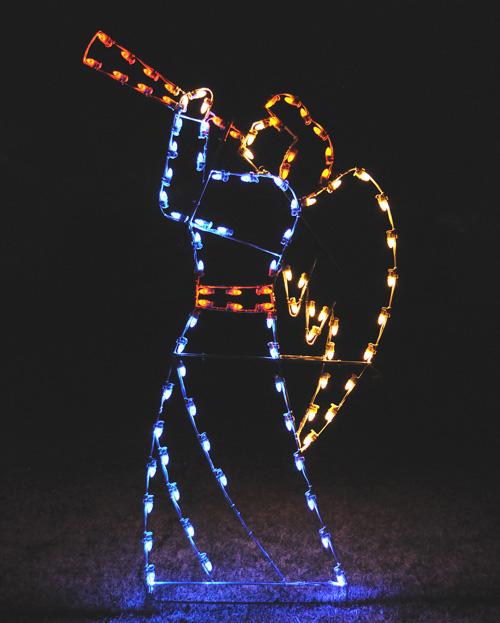 Heralding Angel Christmas Lights Commercial Christmas