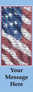 Flag & Pledge of Allegiance Banner
