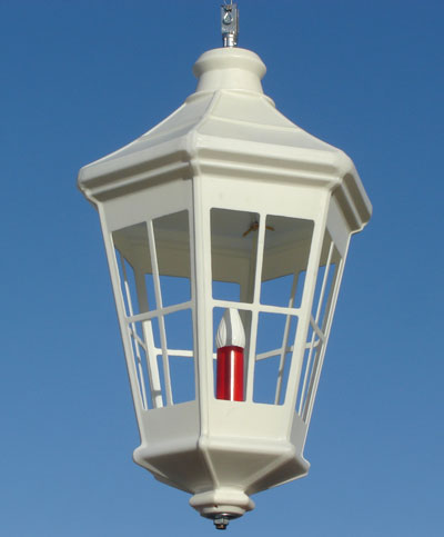 "32"" Red or White Deluxe Lantern"
