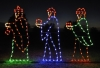 Large Three Wisemen Set Outdoor Light Display