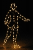 Victorian Skater Man LED Outdoor Holiday Light Decoration