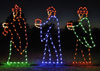 Large, Colorful Three Wise Men - nativity scene - commercial decorations