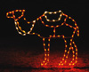 Large Standing Camel Commercial Holiday Light Display for Nativity Scene