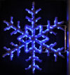 Blue Garland Snowflake, 5 Ft. Pole Decoration